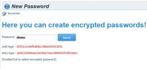 Wordpress Password Generator