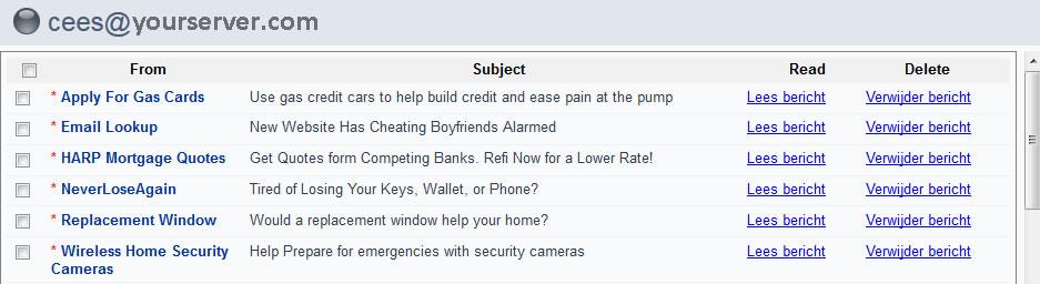 inbox Mail Client