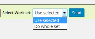 Wordpress-BATCH-Tools Select Workset