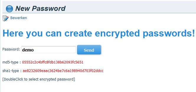 Wordpress Plugin Development Passwords