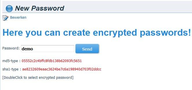 Wordpress Plugin Development Passwords